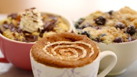 Yummy 1 Minute Microwave Mug Breakfasts
