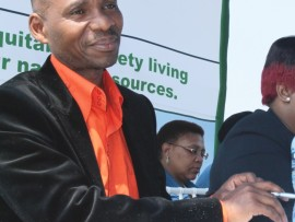 The spokesman for City of Mbombela Municipality, Joseph Ngala.