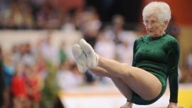 Amazing 91-year-old gymnast – Johanna Quaas