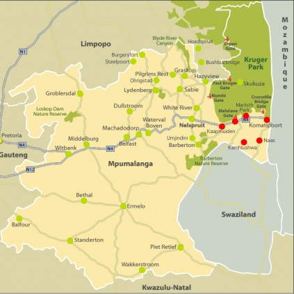 Corridor Gazette Map