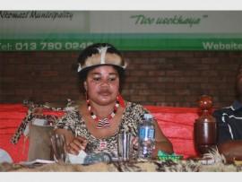 Nkomazi Local Municipality's executive mayor, Cllr Thulisile Khoza.
