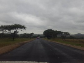 Scenes like these can be seen all over Nkomazi and reminds me of roads we took on holiday roadtrips.