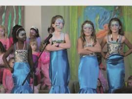 Head mermaids Khosi Nkosi, Montana Mathewson, Libby Ralfe and Alzané van Graan.