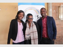 Ms Lizzy Fundama, Ms Sanelisiwe Khubayi and Mr Isaac Nkuna of Khulisa Social Solutions.