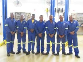 Nkululeko Khumalo, Jobe Sandleni, Brando Sithole, Luvuyo Zunguza, Thabiso Mabuza, Mike Mhlangu and Bonga Monareng.