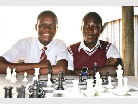 Justice Masinge and Muzi Matsheke from Imagine Scholar.