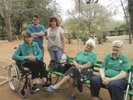 Mari Booysen, Pettie van Zyl, Dawn Rademeyer, Nan Richards en Des Deysel.