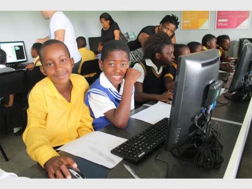 Lebogang Lubisi from Majika and Bonginkosi Mbuyane from Zakelani were some of the best puzzle solvers.