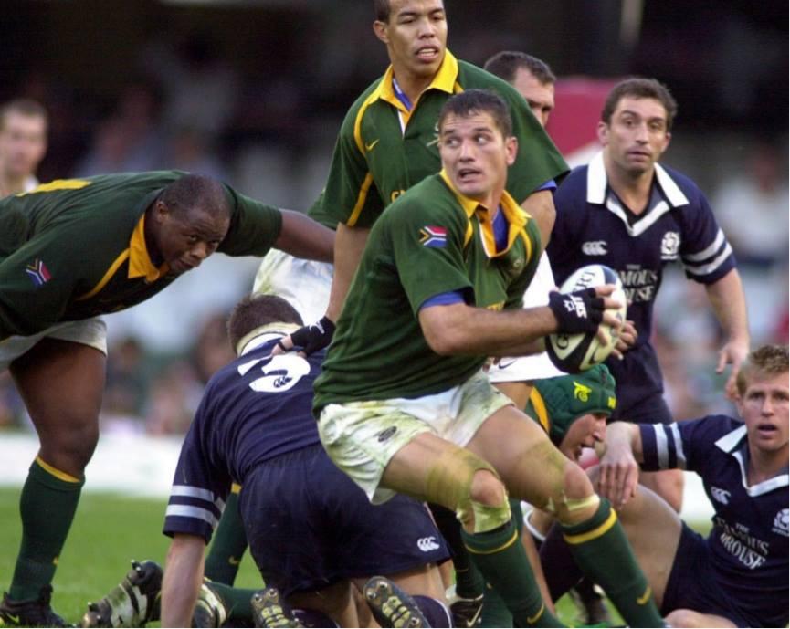 Joost van der Westhuizen, South Africa rugby great, dies aged 45