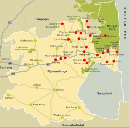 Lowvelder Map