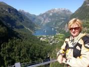 The famous Geirangerfjorden in Norway.