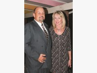 New headmaster Mr Jacques and Ms Ronel Janse van Rensburg.