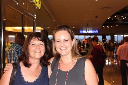 Me. Rita Herbst en me. Judy du Plessis.