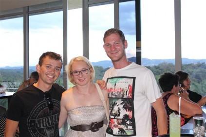 Mnr. Dewald Schutte, Me. Anin Koen en Mnr. De Waal Rossouw.