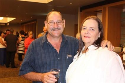 Mnr. Jan Roode en me. Erica Roode.