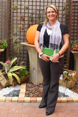 Marketing manager Ms Taryn Laas.