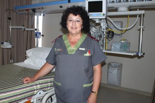 ICU Nurse Hannelie Rippon.