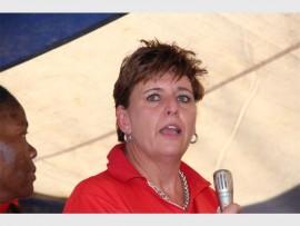 Louisa van Beek, managing executive of Vodacom Mpumalanga.