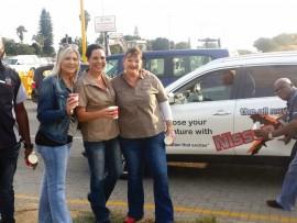 Brian Nkosi, Angela de Meyer, Tanya Kinnear, Roechelle Ferreira and Freddy Singwayo.