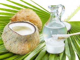 Coconut oil is nature's best (and cheapest) moisturiser.