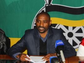 ANC provincial secretary Mr Lucky Ndinisa.