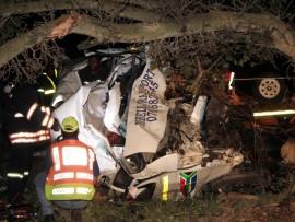 The scene of the crash. Photo: Stefan de Villiers