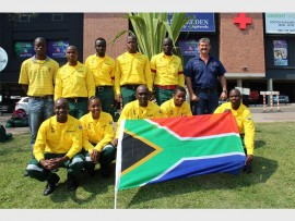 Front: Jabulane Mabuza, Gugu Mnisi, Mbongeni Mothipe, Themba Zimu, Sphamandla Nkosi, (back) Sam Nkosi (WoF regional manager), Mbongeni Mazibuko, Sibusiso leyane, Sicelo Nkambule, Eudance Thethe and Gert van der Westhuizen.