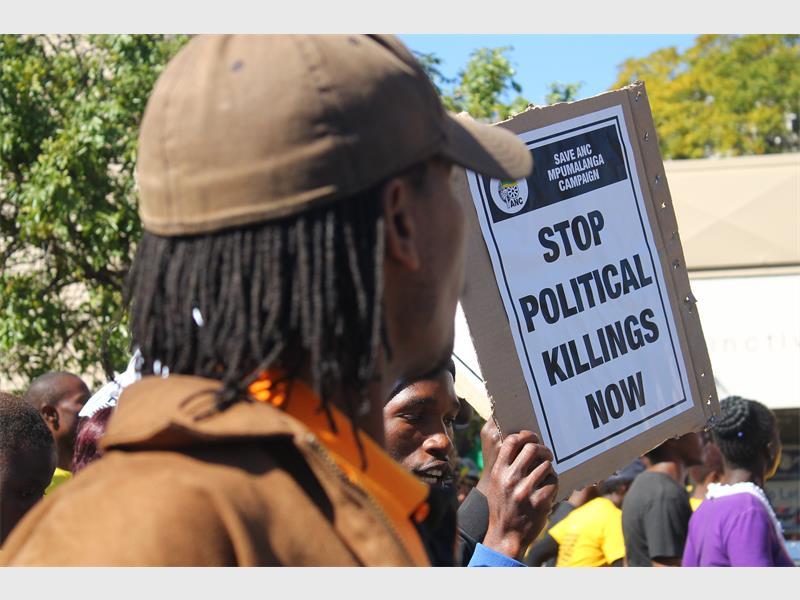 Save ANC Mpumalanga march