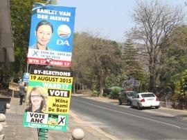 mbombela Ward 17 by-election 2015