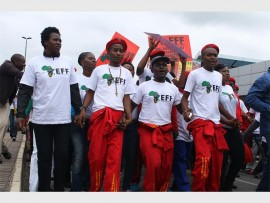 The party took to the streets of Mbombela in May.