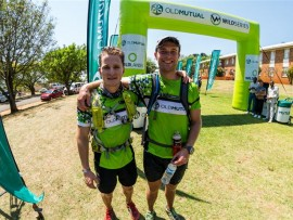 Theo York and Ryan Cloete (who refer to themselves as the Canyon Creepers) ran the K2C Challenge to raise funds (over and above the R15 000 that they have already raised) for Rhino Conservation. They have a passion for conservation and Wildlands are extremely grateful for their amazing support and sacrifice. (Photographer: Anthony Grote)