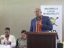Mbombela Local Municipality acting executive mayor,Mr Bheki Zulu