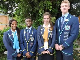 Bergvlam se hoofleiers vir 2016 is Thuli Mthembu, Dylan Badenhorst, Jesse Thorpe en Niël Vermaas.
