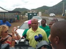 Association of Mineworkers and Construction Union (Amcu) president Mr Joseph Mathunjwa.