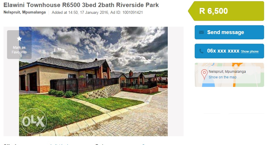 Fake estate agents scam tenants in the Lowveld   Lowvelder