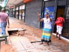 Ms Helen Mathebula illustrating what happened.