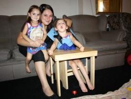 Chloé, Bianca and Charlene Els.