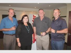 Dr Louis Swanepoel, Ms Irma Green, Mr Vernon Lancaster and Mr Hennie Homann.