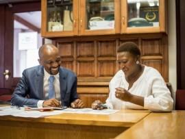Mr Oupa Pilane and Ms Phephsile Maseko.