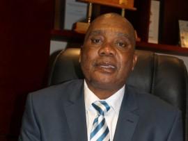 MEC for Health, Mr Gillion Mashego.