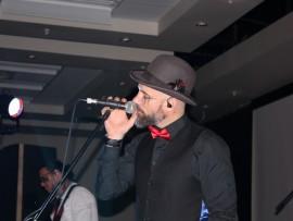 Kahn Morbee, lead vocalist of The Parlotones.