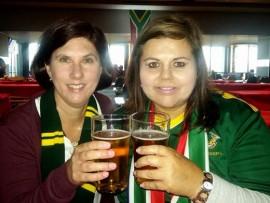 Linda de Beer en Irma Green.
