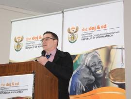 Deputy Minister Mr John Jeffrey.