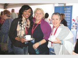 Mss Lindi Mthethwa, Paola Cotinella and Simone Battani.