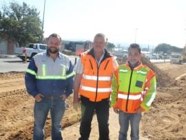 Mr Nico van Niekerk, Mr Mike Stopforth and  Mr Donovan van der Linde.