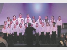 Laerskool Laeveld se junior koor.