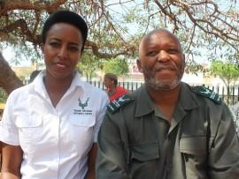 Nthabiseng Moeletsi and Nicholas Funda.