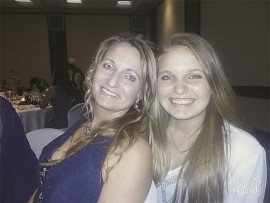 Ms Lizelle Grobler with Ms Danielle Grobler.