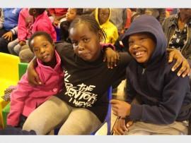 Phethile Mhlaba, Puseletso Tsila and Senzo Hlaba.