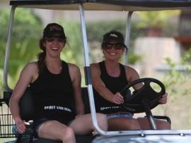 Kerri Dunshea and Annelize du Plessis.